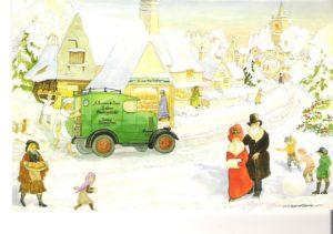 """Card 12 """"Ye Olde Village Bakery"""" Size: 190mm x 125mm"""