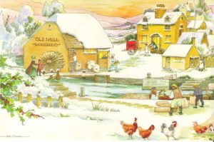 """Card 9 """"The Old Mill Village Bakery"""" Size: 190mm x 125mm"""