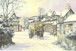 """Card 3 """"The Village Bakery"""" Size: 190mm x 125mm"""